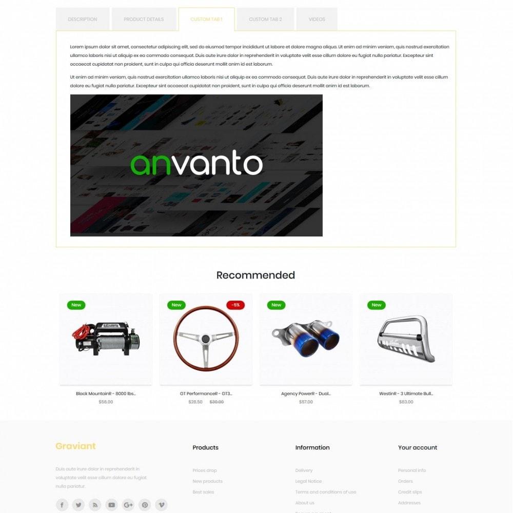 theme - Automotive & Cars - Graviant - 8