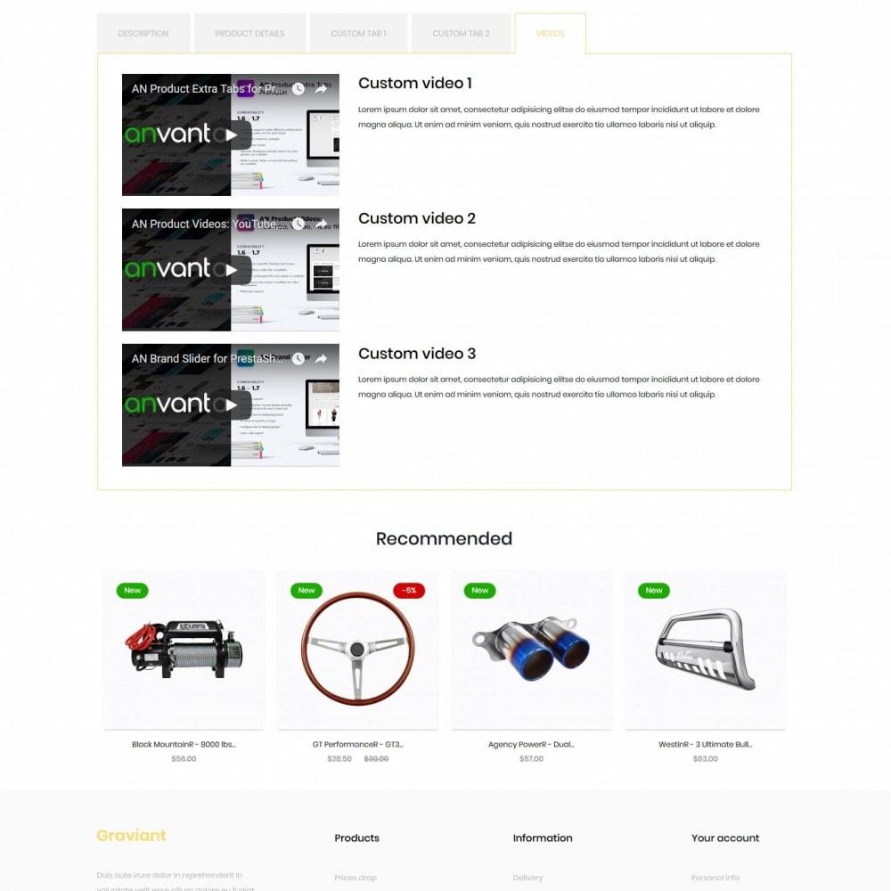 theme - Automotive & Cars - Graviant - 9