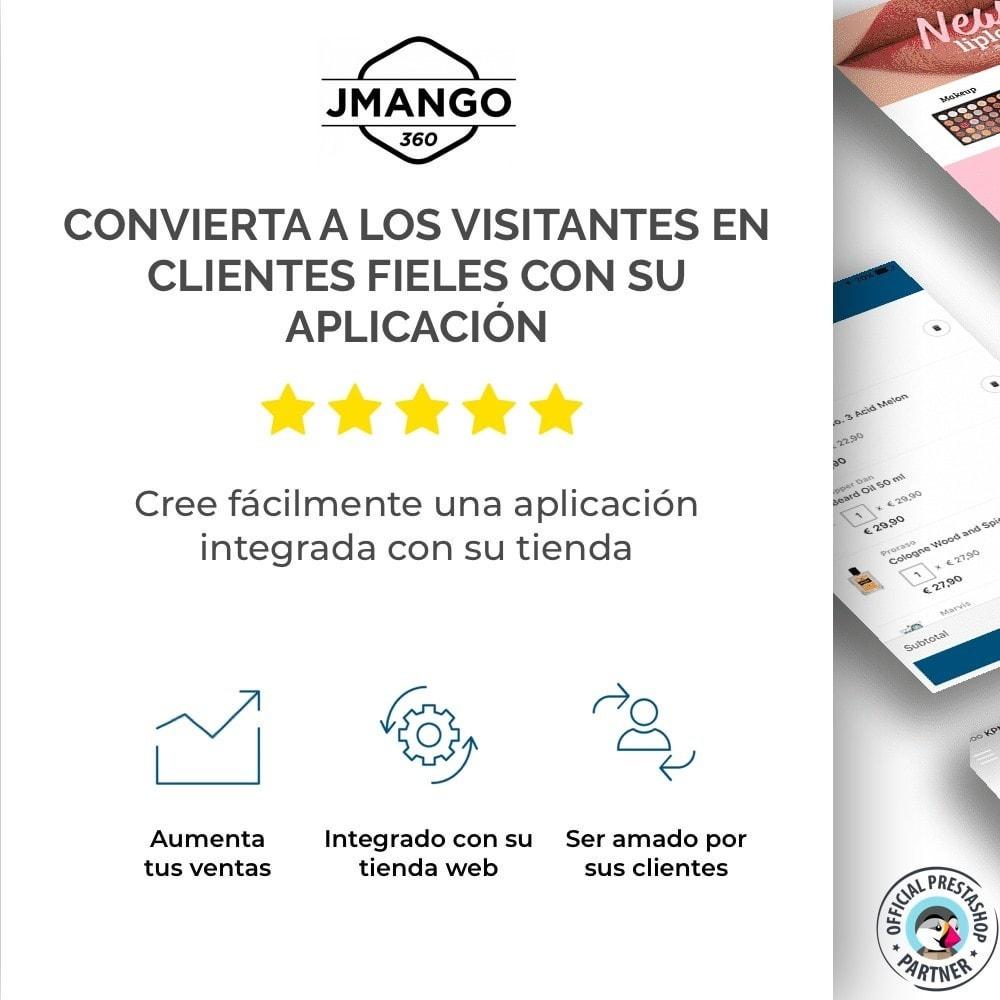 module - Dispositivos móviles - Constructor de App JMango360 - 1