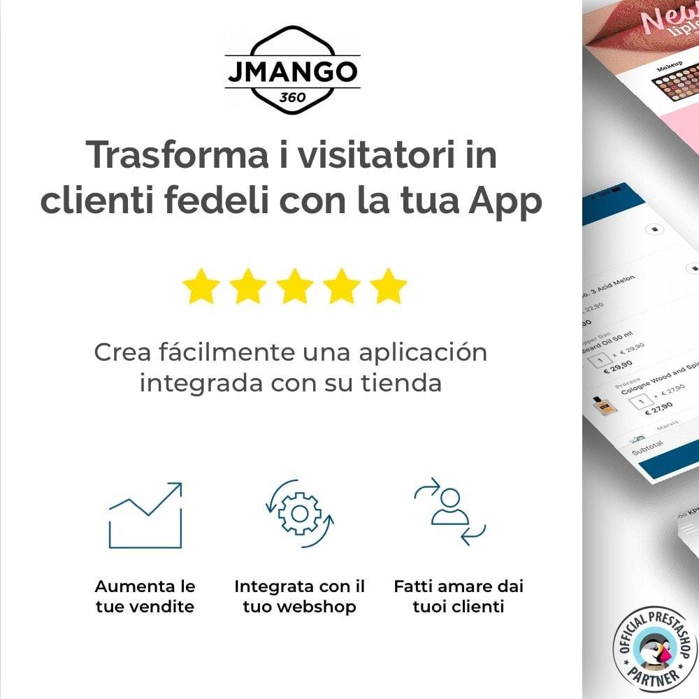 module - Dispositivi mobili - Costruttore App JMango360 - 1