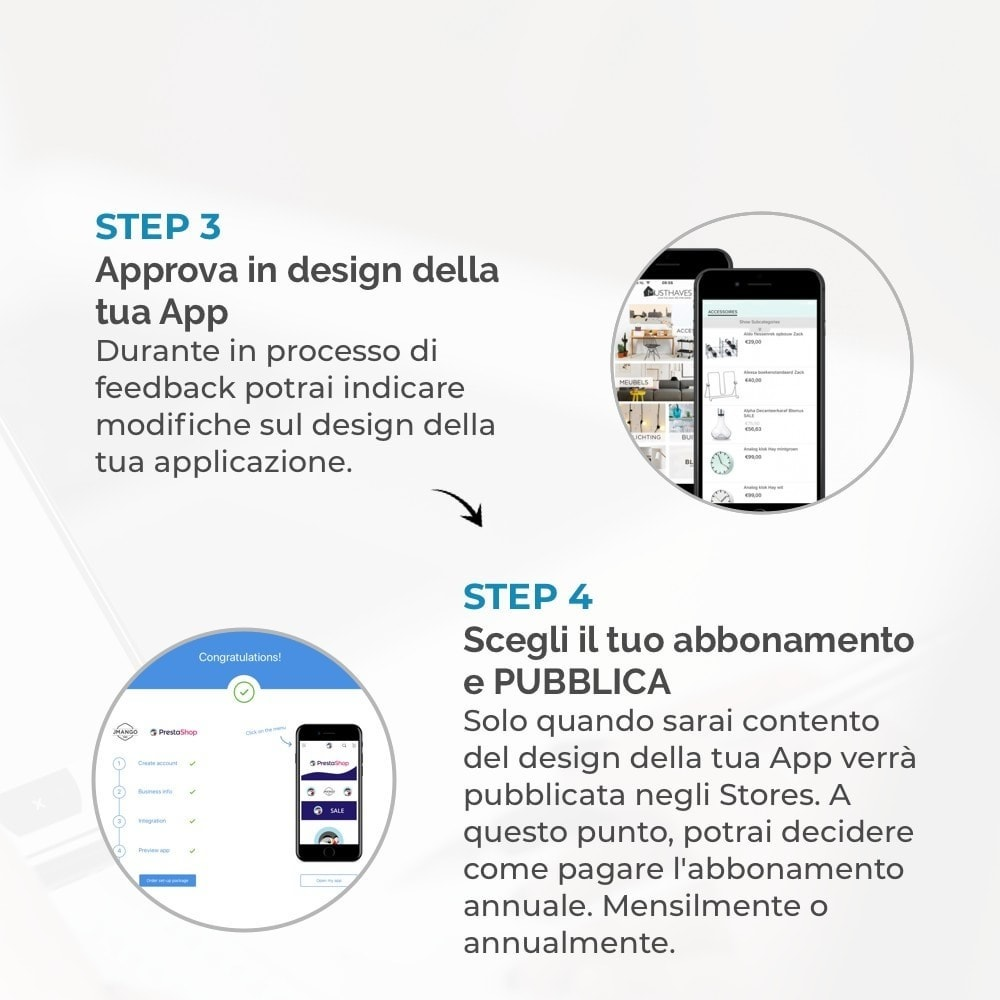 module - Dispositivi mobili - Costruttore App JMango360 - 4