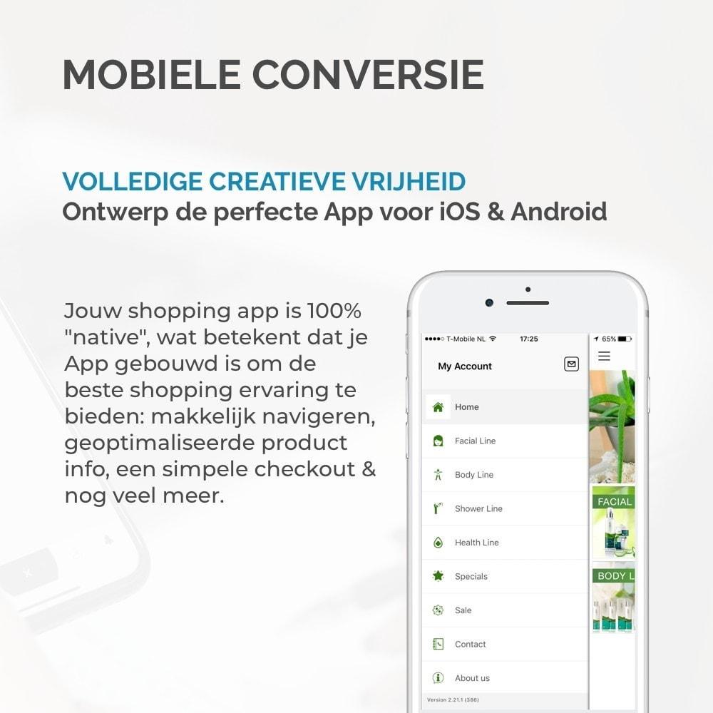 module - Mobiele apparaten - JMango360 Mobile App builder - 8