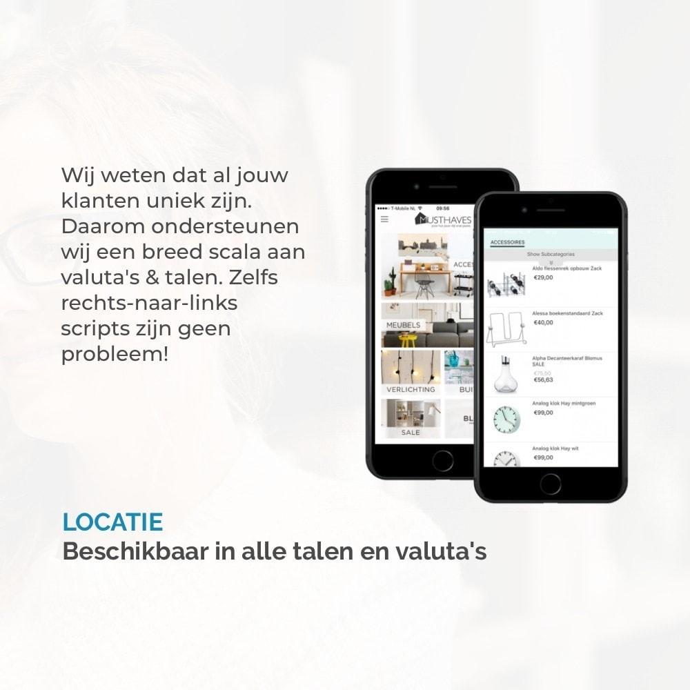module - Mobiele apparaten - JMango360 Mobile App builder - 10