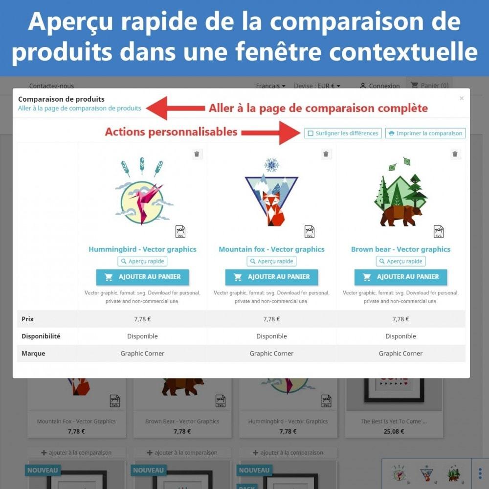 module - Comparateurs de prix - Comparaison avancée des produits - 8
