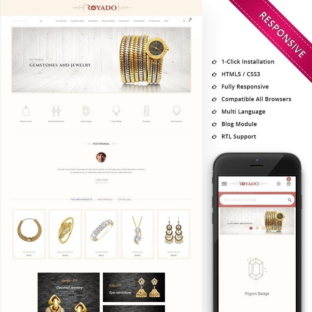 theme - Jewelry & Accessories - Royado - The Beauty Shop - 1