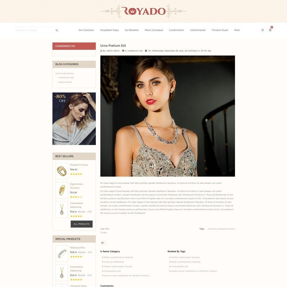theme - Jewelry & Accessories - Royado - The Beauty Shop - 7