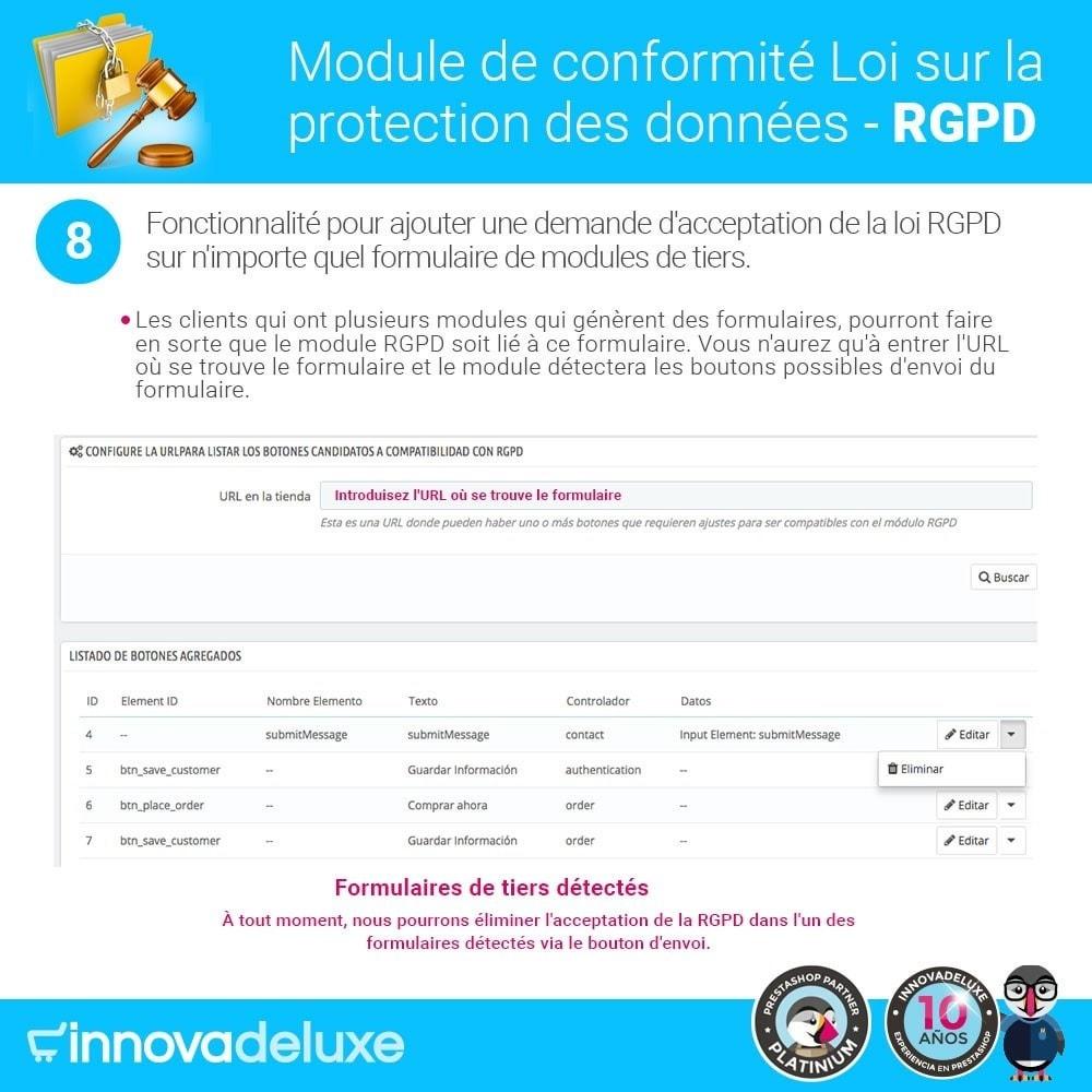 module - Législation - Conformité à la Loi sur la protection des données RGPD - 15