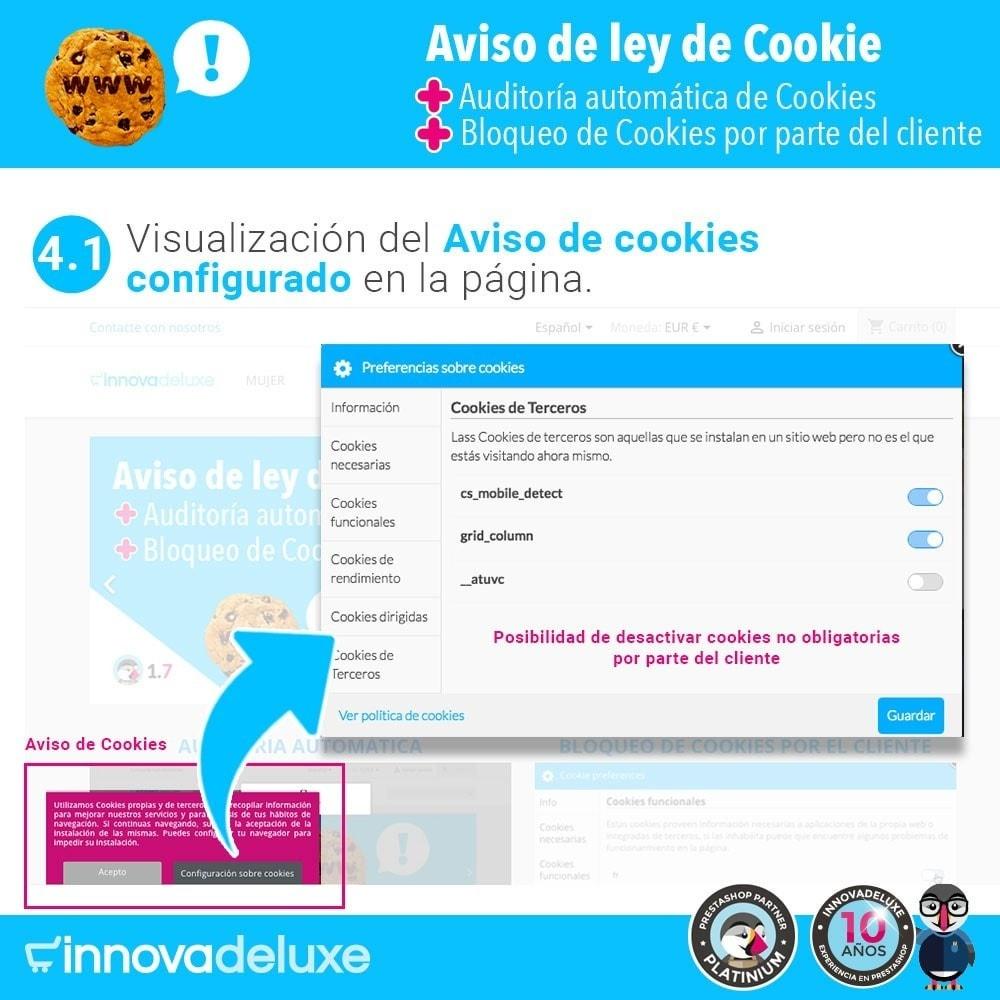 module - Marco Legal (Ley Europea) - Ley de Cookies RGPD/LOPD (Aviso - Auditoría - Bloqueo) - 6