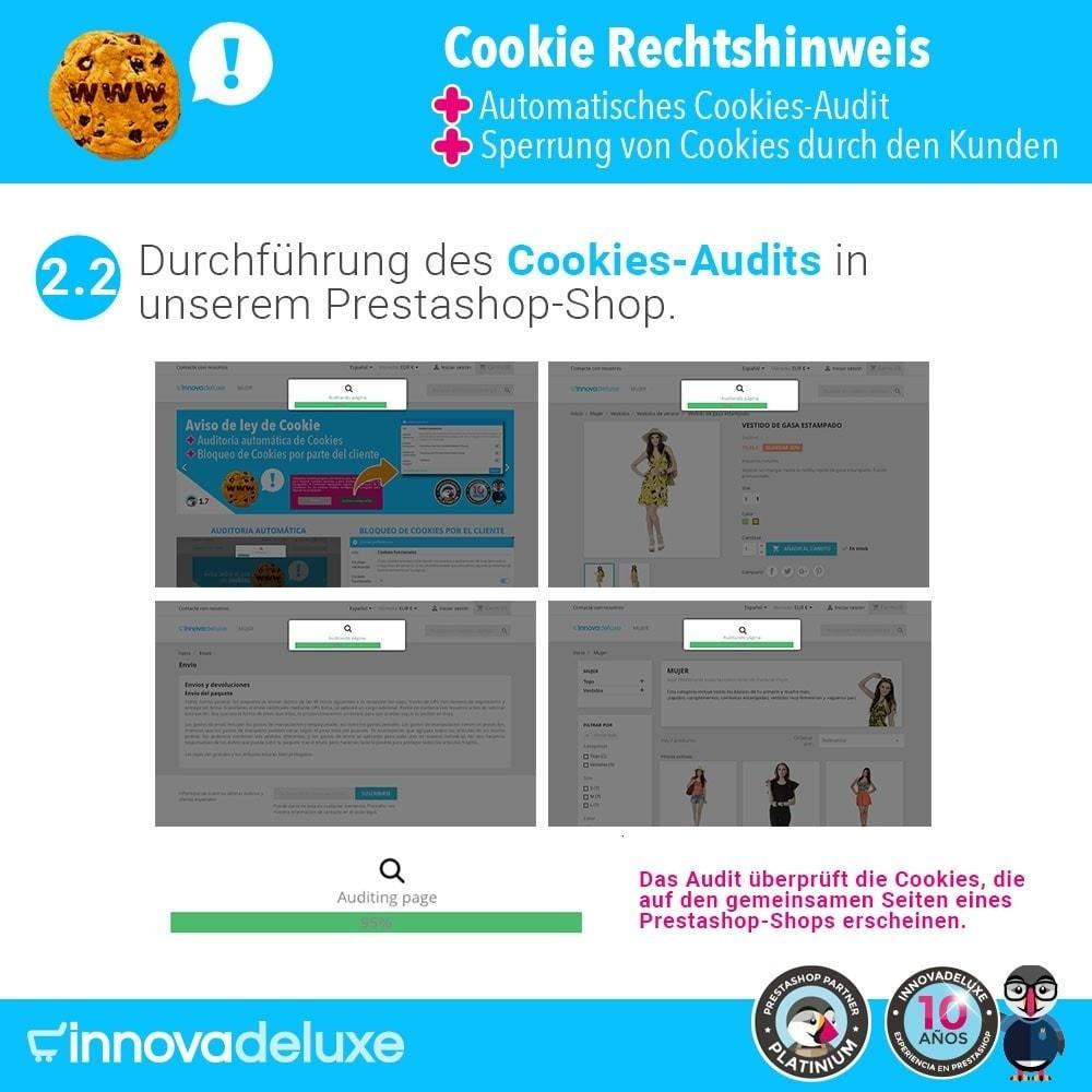 module - Rechtssicherheit - GDPR-Cookies-Gesetz (Hinweis - Audit - Sperrung) - 4
