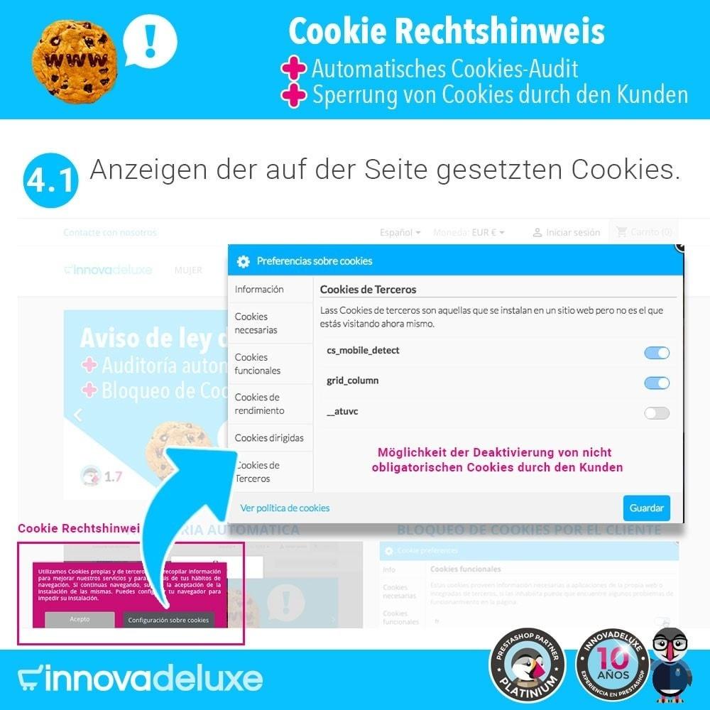 module - Rechtssicherheit - GDPR-Cookies-Gesetz (Hinweis - Audit - Sperrung) - 6