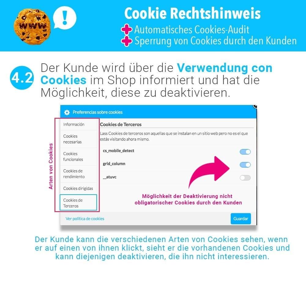 module - Rechtssicherheit - GDPR-Cookies-Gesetz (Hinweis - Audit - Sperrung) - 7