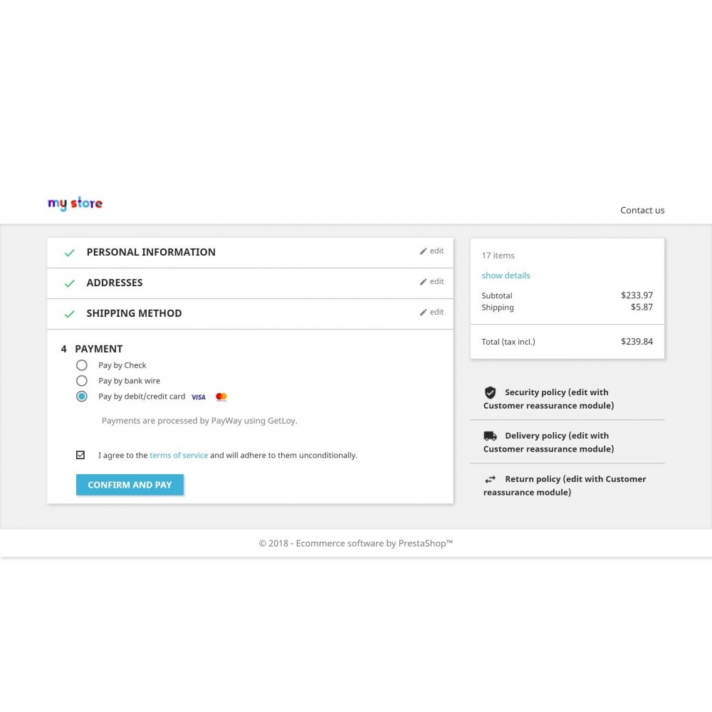 module - Payment by Card or Wallet - GetLoy Payments (supports Payway by ABA Bank) - 1