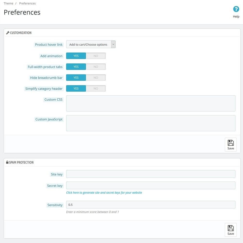 module - Individuelle Seitengestaltung - Classic Theme Customizer - 6