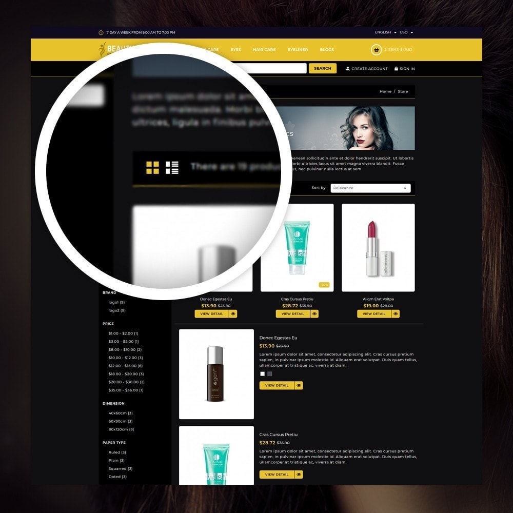 theme - Health & Beauty - Beauty - The Cosmetic Store - 3