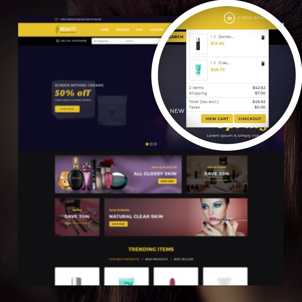 theme - Health & Beauty - Beauty - The Cosmetic Store - 6