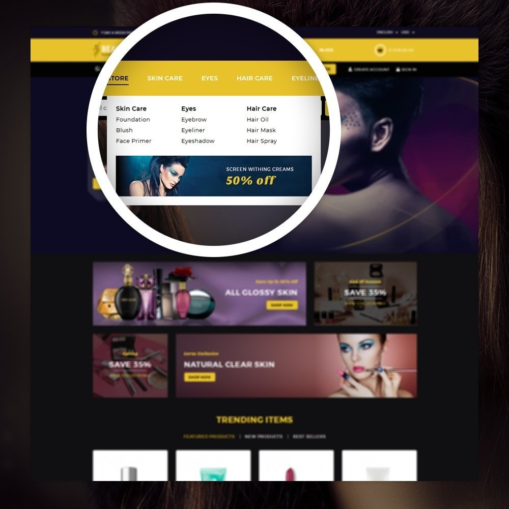 theme - Health & Beauty - Beauty - The Cosmetic Store - 7