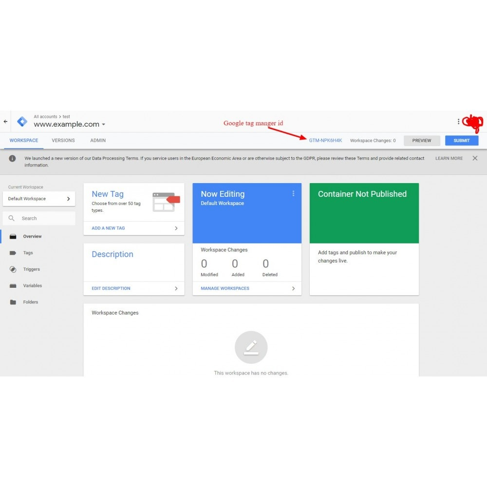 module - Analytics & Statistics - SEO  Google Tag Manager - All in one - 7