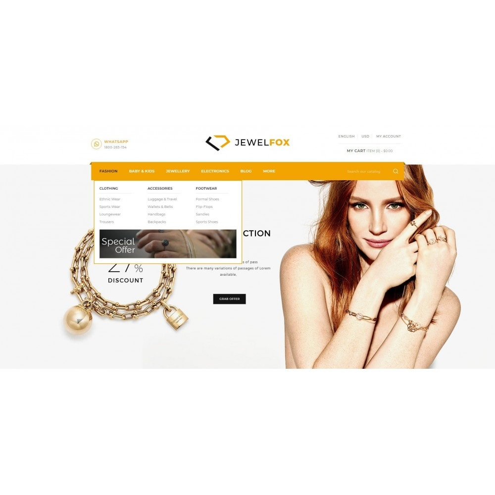 theme - Jewelry & Accessories - Jewelfox - Jewelry Store - 6