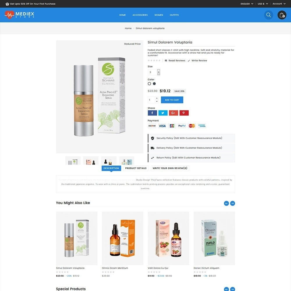 theme - Health & Beauty - Mediex Health and Medical Store - 3