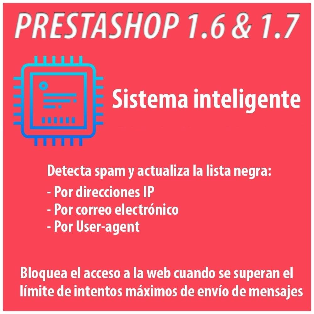 module - Seguridad y Accesos - Anti-spam Protector - 2