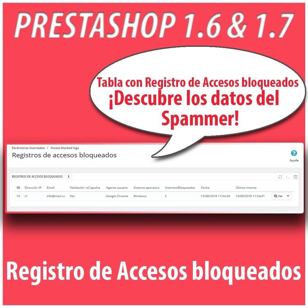 module - Seguridad y Accesos - Anti-spam Protector - 4