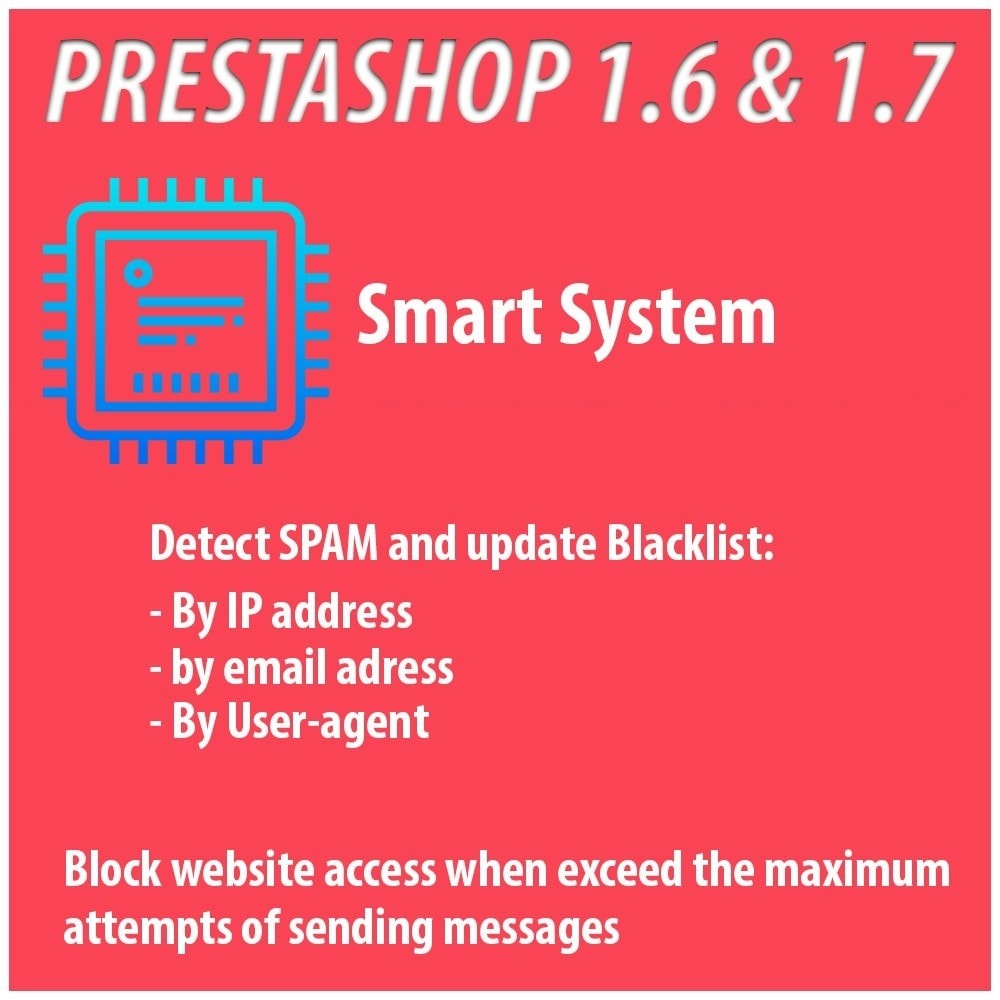 module - Безопасности и доступа - Anti-spam Protector - 2