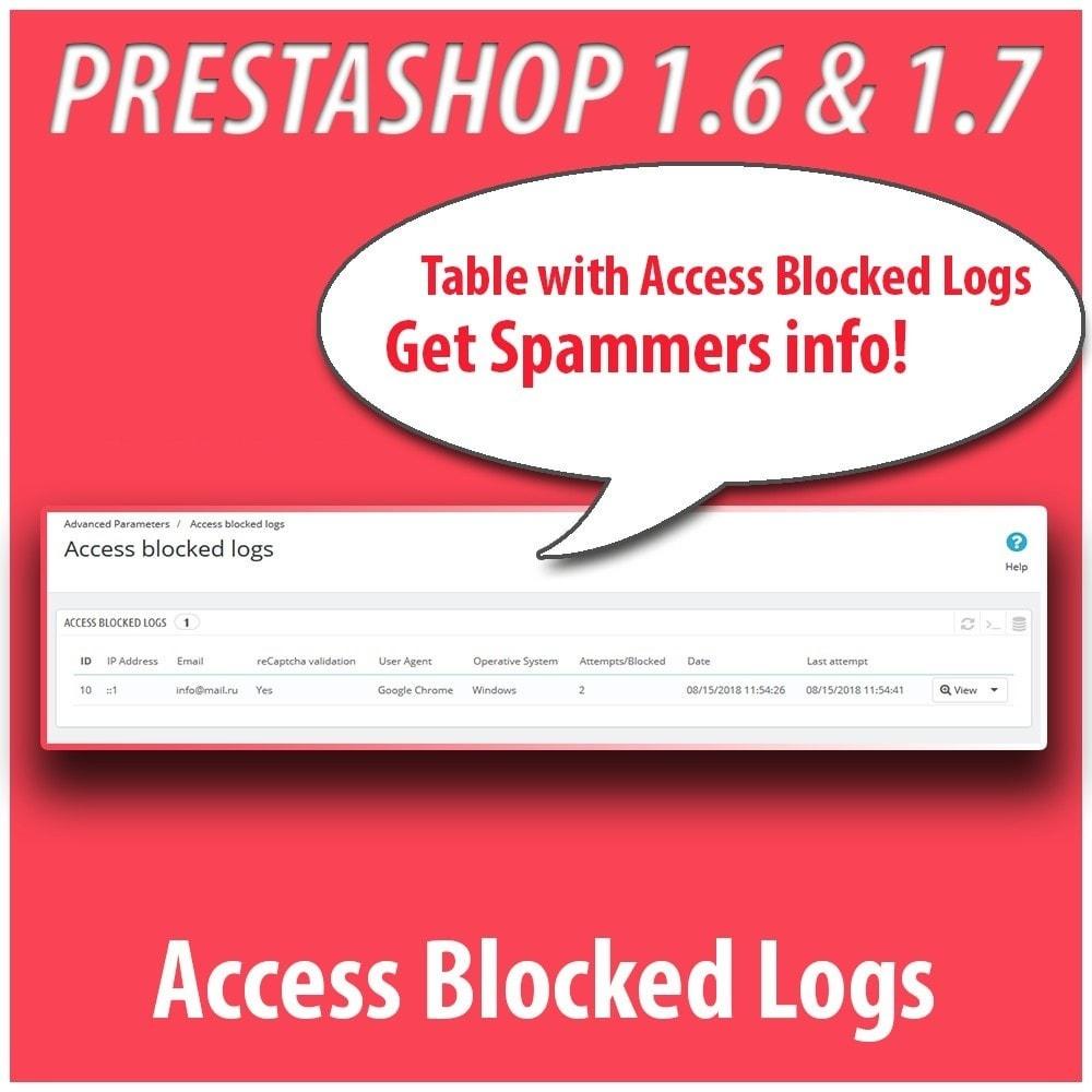 module - Безопасности и доступа - Anti-spam Protector - 4
