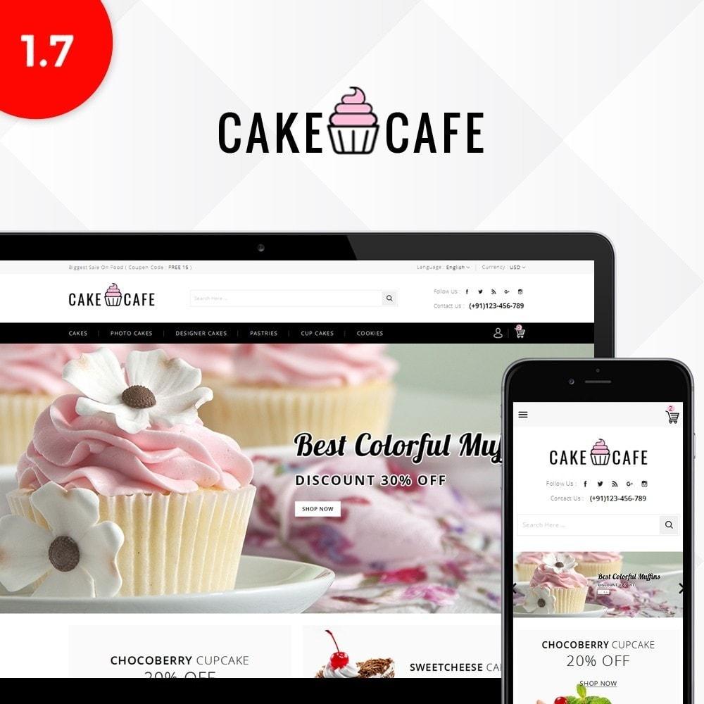 theme - Gastronomía y Restauración - Cake cafe Store - 1
