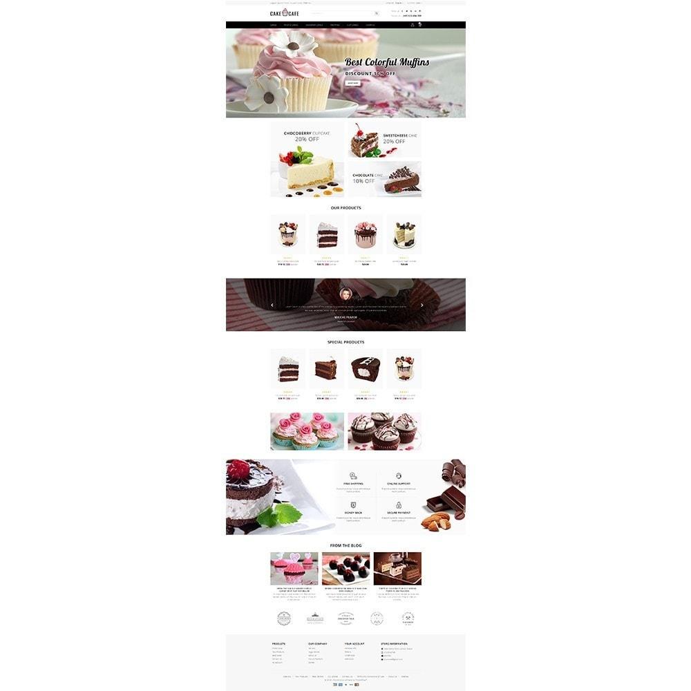 theme - Gastronomía y Restauración - Cake cafe Store - 2