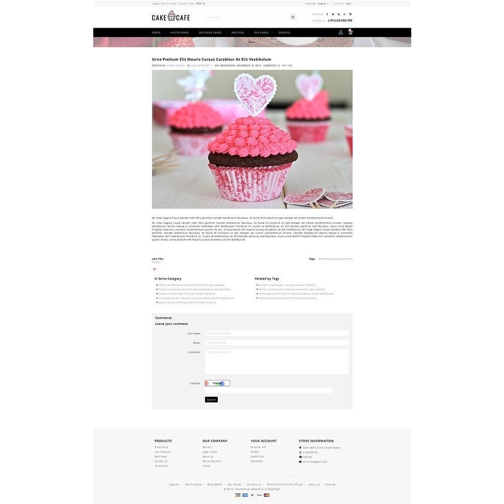 theme - Gastronomía y Restauración - Cake cafe Store - 6