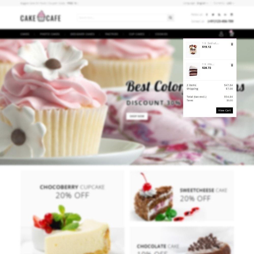 theme - Gastronomía y Restauración - Cake cafe Store - 8