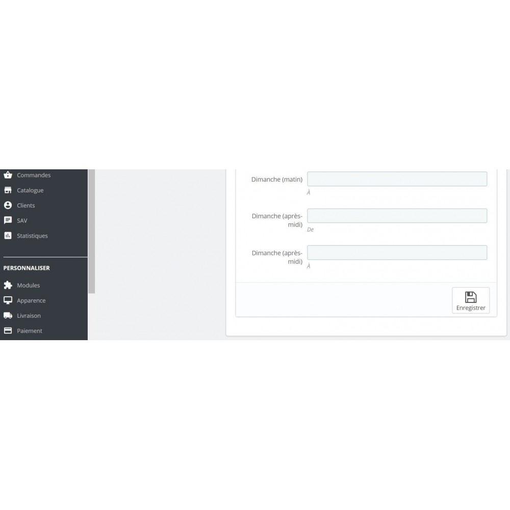 module - Location & Réservation - Mode catalogue sur horaires - 6