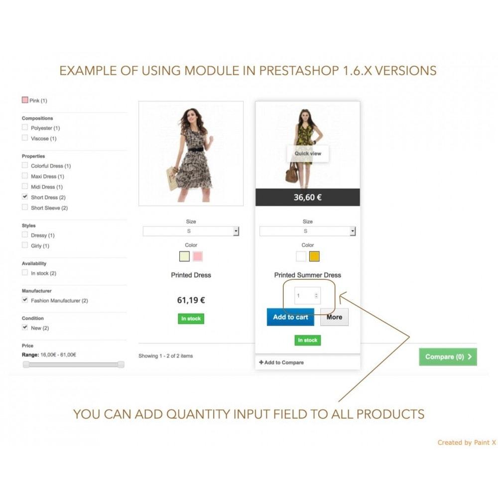 module - Вариаций и персонализации товаров - Просмотр атрибутов продукта в списке продуктов - 6