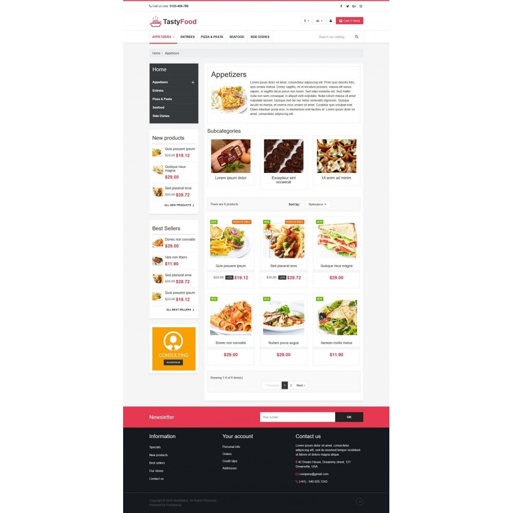 theme - Food & Restaurant - VP_TastyFood Store - 3