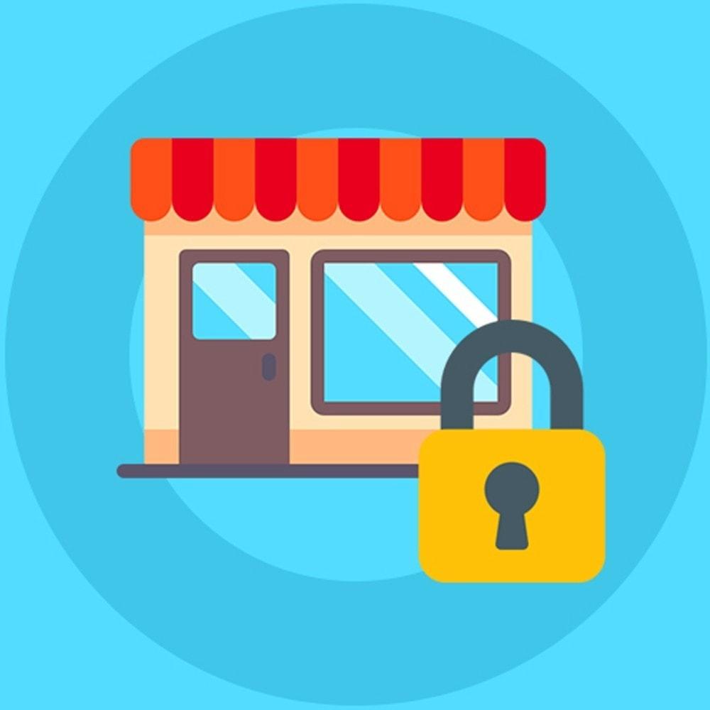 module - Uitverkoop & Besloten verkoop - Knowband - Private Shop - 1
