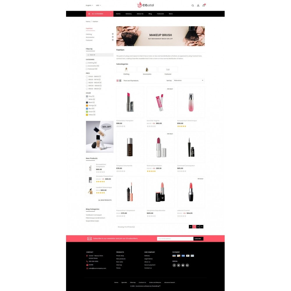 theme - Health & Beauty - Costal - Beauty Store - 3