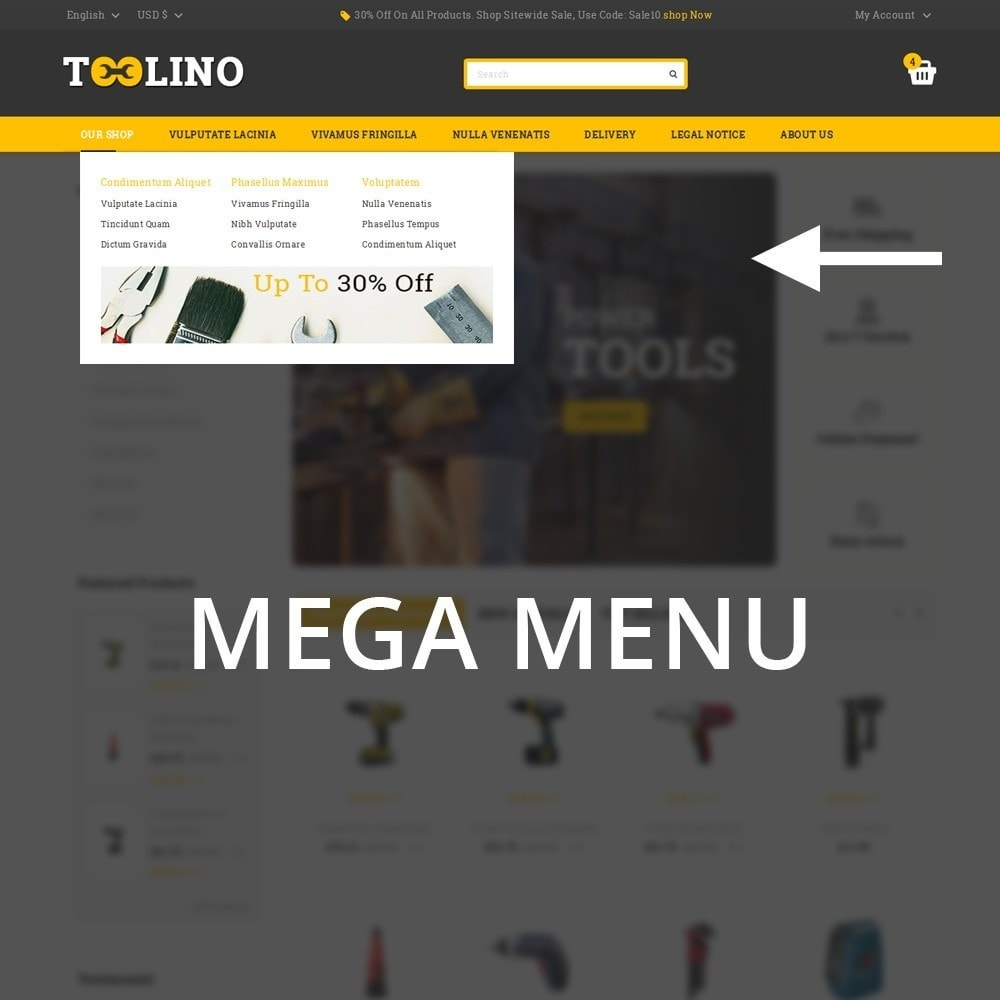 theme - Automotive & Cars - Tooline - The Tool Store - 9