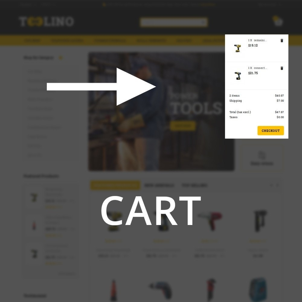 theme - Automotive & Cars - Tooline - The Tool Store - 10