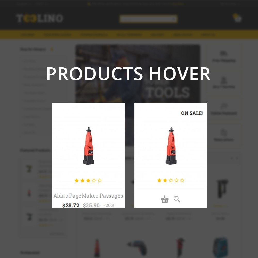 theme - Automotive & Cars - Tooline - The Tool Store - 11