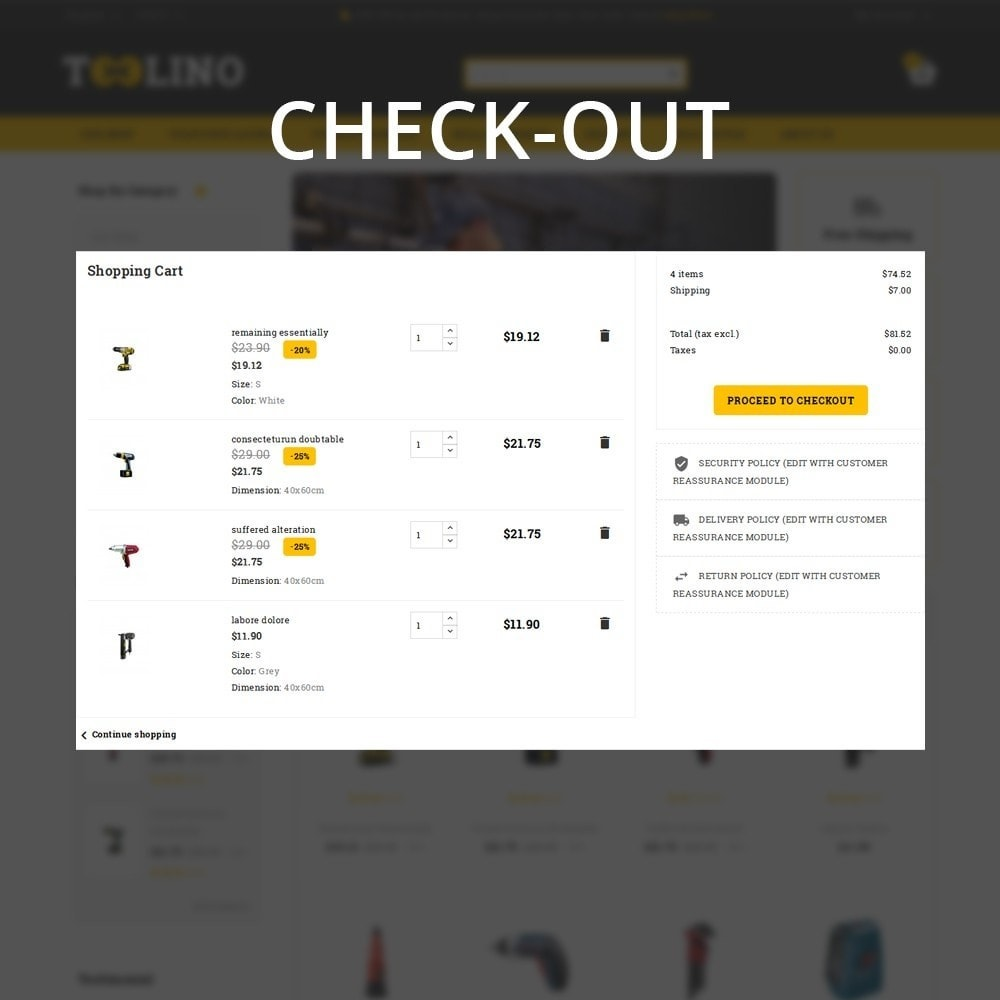 theme - Automotive & Cars - Tooline - The Tool Store - 13