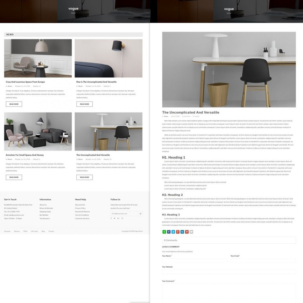theme - Home & Garden - Vogue - Furniture Store - 5