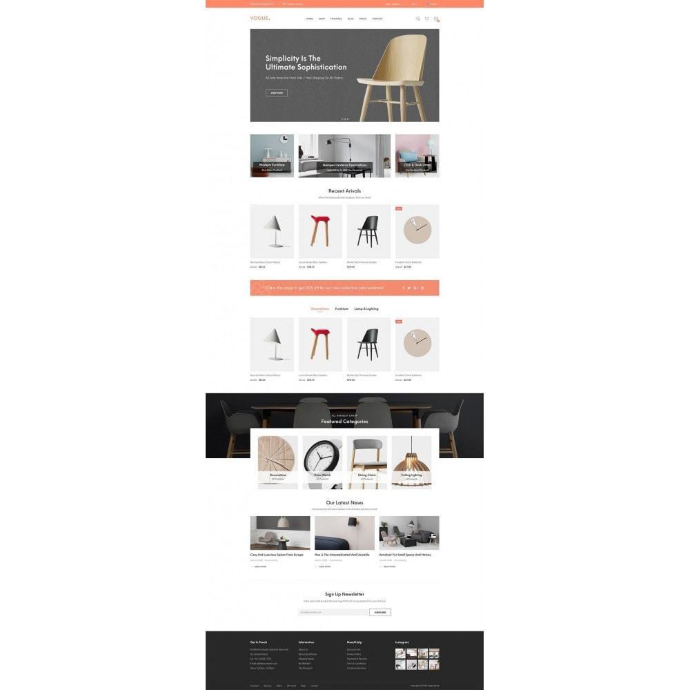 theme - Home & Garden - Vogue - Furniture Store - 11