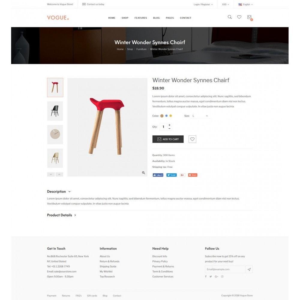 theme - Home & Garden - Vogue - Furniture Store - 12