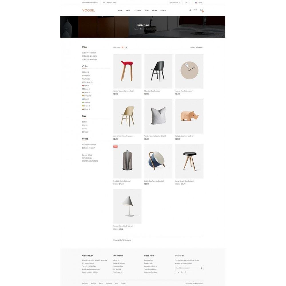 theme - Home & Garden - Vogue - Furniture Store - 13