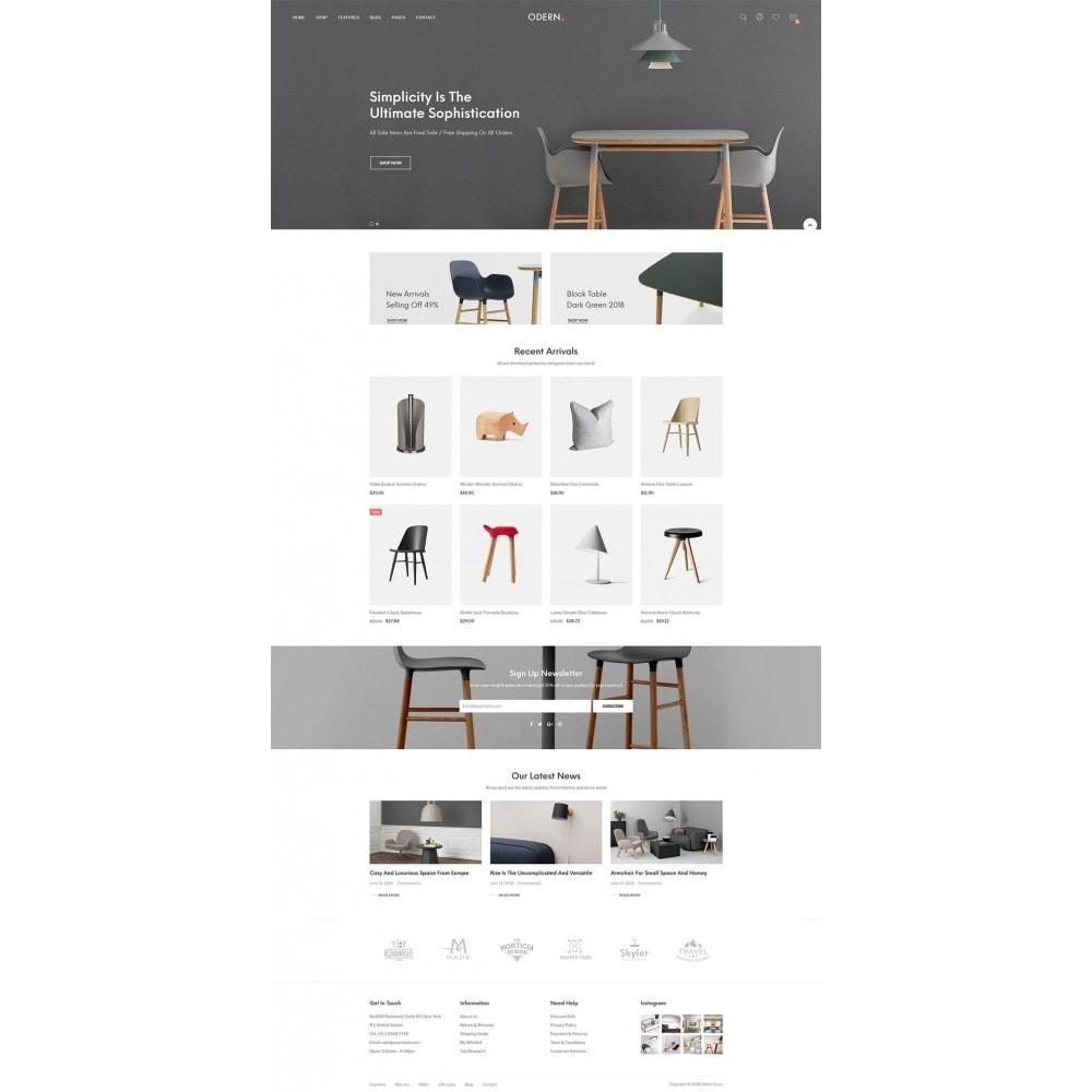 theme - Home & Garden - Odern - Furniture Store - 7