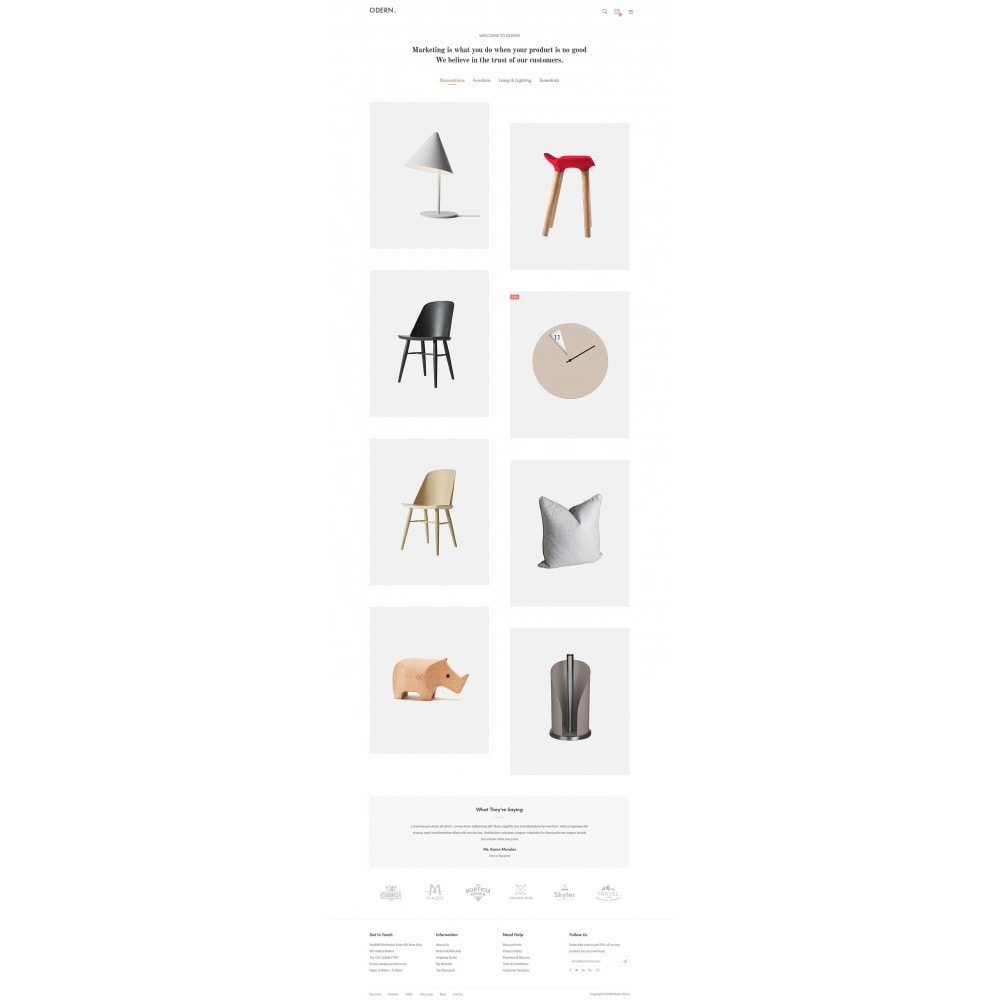 theme - Home & Garden - Odern - Furniture Store - 11