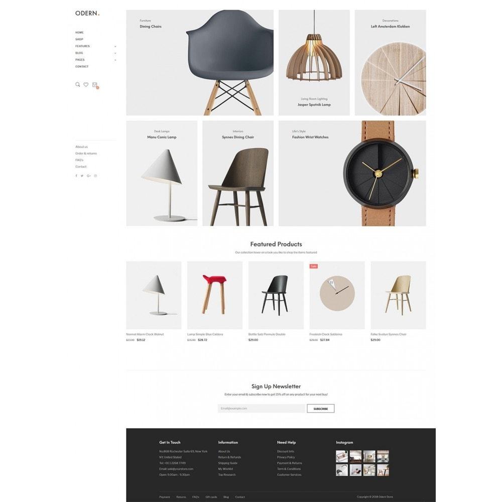 theme - Home & Garden - Odern - Furniture Store - 12