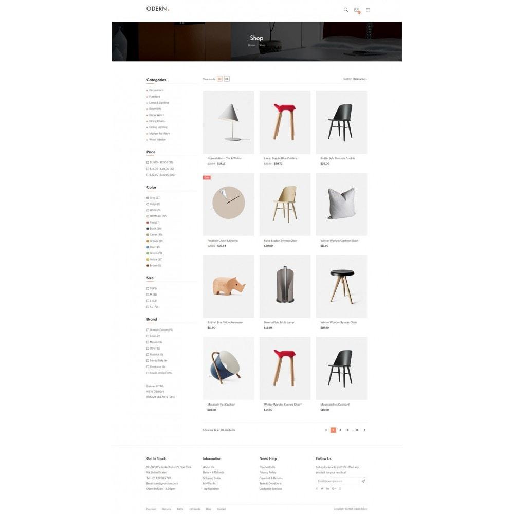 theme - Home & Garden - Odern - Furniture Store - 14