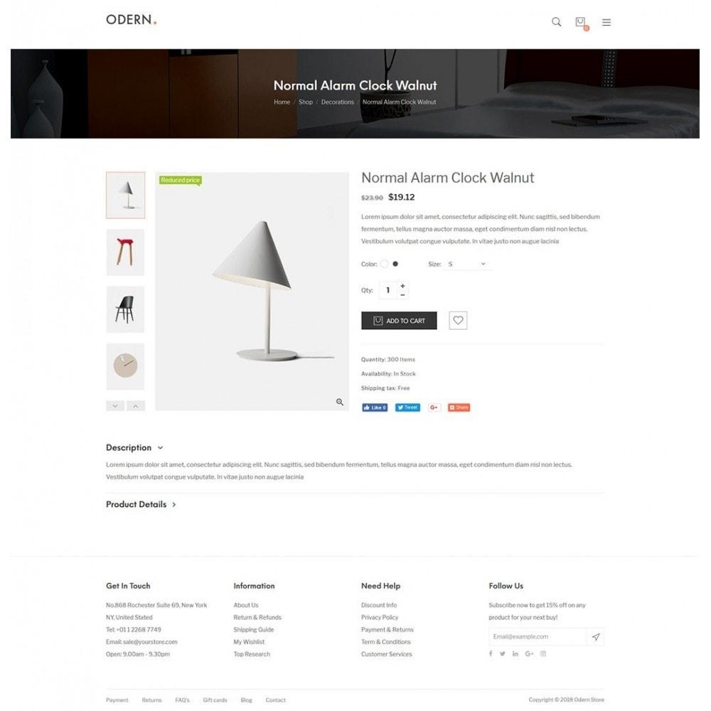theme - Home & Garden - Odern - Furniture Store - 15