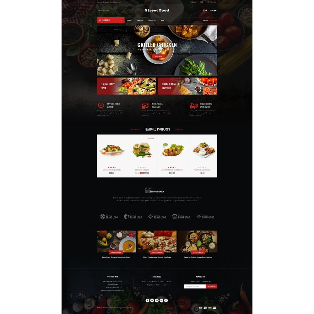 theme - Eten & Restaurant - Street Food Store - 2
